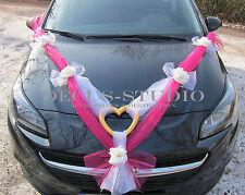 Girlande für Dekoration von Brautauto Hochzeit Autodeko Autoschmuck, AM007-04