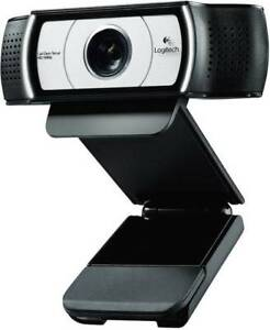LOGITECH C930E FULL HD- WEBCAM 1920 X 1080 PIXEL STANDFUSS, KLEMM-HALTERUNG NEU
