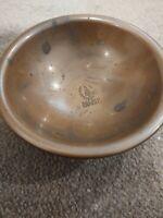 Copper Bowl/Dish Hallmarked Sovereign Hill Ballarat Australia