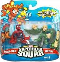 Marvel Superhero Squad -  Spider-Man & Vulture action figure