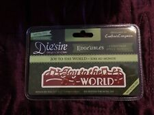 CRAFTER'S COMPANION DIESIRE JOY TO THE WORLD EDGE'ABLES DIE