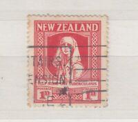 New Zealand 1929 1d Red Nurse Health SG544 VFU J5176