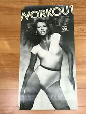 Jane Fonda's Workout Poster from the early 1980's