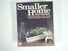 Vintage Tomy Smaller Homes Outdoor Plants Set NOS in Box #2440 Dollhouse