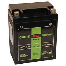 Orbis Motorradbatterie GEL 51411 14Ah 12V Starterbatterie YB14L-A2 *NEU*