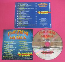 CD Compilation Un Cocktail Di Poesia GIORGIO GABER ROBERTO VECCHIONI no lp(C43)