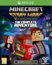 New Minecraft Story Mode The Complete Adventure (Xbox One, XB1)