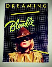 Blondie, Debbie Harry, Dreaming sheet music 1979