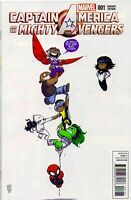 Captain America And The Mighty Avengers 1 Skottie Young Variant 2015 Marvel