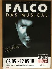 FALCO  -  MUSICAL 2018 MÜNCHEN  - orig.Concert Poster -- Konzert Plakat  A1 NEU