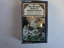 The Greatest Works of Johann Strauss Cassette Classical Overture Album