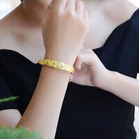 New Women's Fashion Jewelry Gold Plated Star Adjustable Bangle Bracelet 16-11
