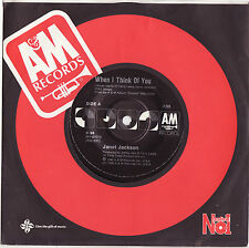 JANET JACKSON - WHEN I THINK OF YOU Very rare 1986 OZ R&B Single Release! M-