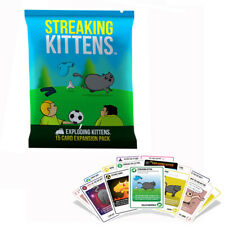 Streaking Kittens: Second Expansion Of Exploding Kittens, Multiplayer Card Game