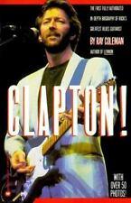BIOPB Clapton (Eric Clapton) by Ray Coleman (over 50 foto 1986 Pbk Warner Books)