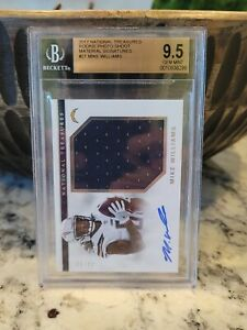 Mike Williams BGS 9.5 10 RPA 2017 NT ROOKIE AUTO /99 RC GM MNT POP 1🔥