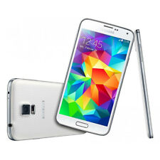 """5.1"""" Samsung Galaxy S5 SM-G900F Unlocked 4G LTE GSM Android Smartphone White"""
