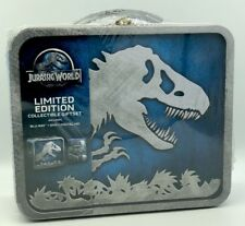Jurassic World Limited Ed. Collectible Gift Set Blu-ray+DVD+Digital HD+Lunchbox