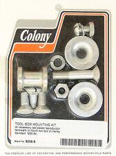 Harley 35-54 Tool Box Mount Kit Cadmium Colony 8206-9