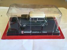 """DIE CAST """" MORRIS COOPER S - 1964 """" SCALA 1/43 AUTO PLUS + BOX 1"""