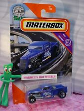 2020 Matchbox 1935 FORD PICKUP #51 blue truck; Kingson Pop! MBX HIGHWAY