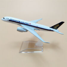 16cm alloy plane model air singapore Airlines A350 Airbus 350 Airplane Aircraft