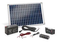 Solar Set 20 Watt mit Akku Bausatz Solaranlage Inselanlage Camping Solarmodul