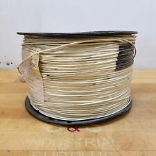 16 AWG Stranded Copper Wire, Approximately 3000 Feet, GXL, White - NEW