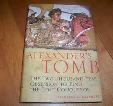 ALEXANDER'S TOMB Lost Burial Alexander the Great Ancient Greek Empire Book NEW