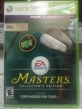 New!!! Tiger Woods PGA Tour 13 Masters Collector's Ed (Xbox 360, 2012) Sealed!!!