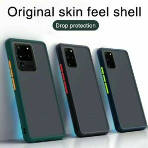 Matte Case For Samsung S20 FE S10 S9 8 Plus Note 20Ultra A21s A51 S21 Back Cover