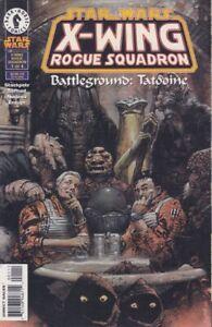 STAR WARS: X-WING ROGUE SQUADRON - BATTLEGROUND: TATOOINE #1 - Back Issue
