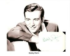 Bobby Darin Autograph Beyond the Sea Dream Lover Splish Splash Come September