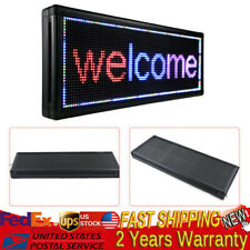 Led Sign 40 X15 3 Color Outdoor Programmable Scrolling Message Board