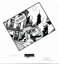 Ex-libris Sérigraphie Néron La beuverie