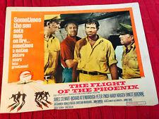 The Flight Of The Phoenix 1965 20th Century Fox lobby card James Stewart Richard