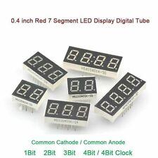 04 Inch Red 7 Segment Led Display Digital Tube Common Cathodeanode 1234bit