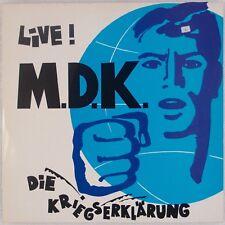 MDK: Mekanik Destrüktiw Komandöh Live Experimental ZICKZACK Live LP