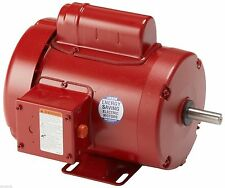 Leeson Electric Motor 113938.00 1.5 HP 1725 Rpm 1-PH 115/208-230V 56HZ Frame