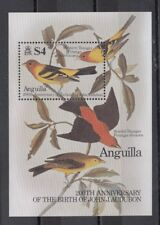 TIMBRE STAMP BLOC ILE ANGUILLA Y&T#636 OISEAU BIRD NEUF**/MNH-MINT 1985 ~B82