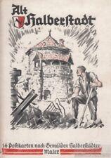 Alt Halberstadt. 14 Postkarten nach Gemälden Halberstädter Maler