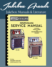 Seeburg HF 100G & 100W  Service Manual and Parts Catalogs with Troubleshooting