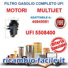 FILTRO GASOLIO UFI 5508400 PANDA IDEA PUNTO MUSA YPSILON 1.3 MULTIJET 46849581
