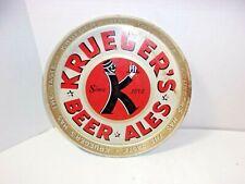 Vintage Krueger's Beer & Ales Beer Metal Serving Tray Breweriana