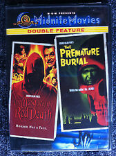 THE MASQUE OF THE RED DEATH /  THE PREMATURE BURIAL - DVD REGION 1/USA
