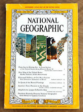 National Geographic July 1961. No Map. Coca Cola Ad. Coke Brazil Flamingo Tirol