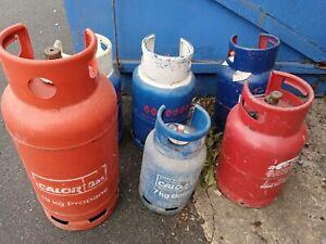 Job lot Calor Gas -  Propane / Butane - Bottle / Cylinder - Joblot