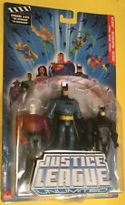 "Justice League Unlimited METAMORPHO Batman WILDCAT 5"" Action Figures DC UNIVERSE"