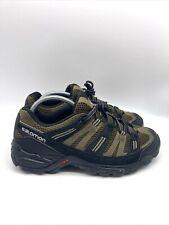 Salomon Contragrip Mens Hiking Trail Shoes Black Size 8.5