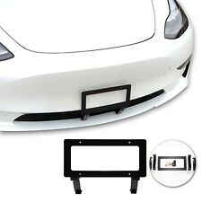 New listing NO HOLE Front License Plate Hardware Installation Kit Fit For Tesla Model 3 Y